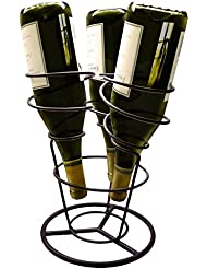 Vinotemp VNTEP-RACK006 Epicureanist Swirl Wine Rack