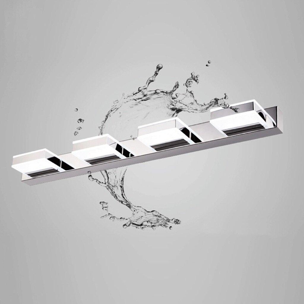 WarmWeiß-12w580mm Wasserdicht Nebel Edelstahl LED-Spiegel-Frontleuchten (Farbe   Warmweiß-9w460mm)