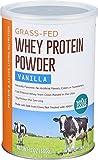 Whole Foods Market, Grass-Fed Whey Protein Powder, Vanilla, 12 oz