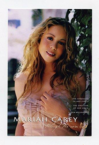Mariah Carey Rolling Stone (Mariah Carey Through The Rain single promo Postcard 2002)