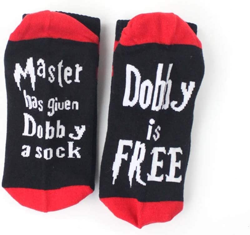 """/""""Master has given Dobby a sock Dobby is FREE/"""" Socks by Smith/'s/®"""