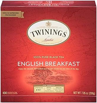 100-Count Twinings of London English Breakfast Black Tea Bags