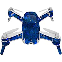 Skin For Yuneec Breeze 4K Drone – Blue Ice | MightySkins Protective, Durable, and Unique Vinyl Decal wrap cover | Easy To Apply, Remove, and Change Styles | Made in the USA