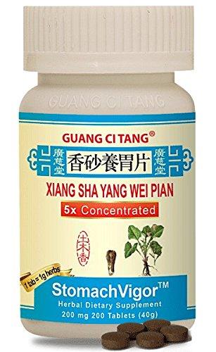 Amazon.com: Xiang Sha Yang Wei Pian (stomachvigor) 200 mg ...