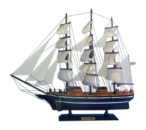 Hampton Nautical  Cutty Sark Tall Ship, 20'' by Hampton Nautical