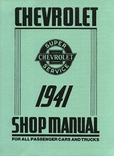 1941 Pickup - 1941 Chevrolet Shop Manual