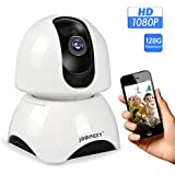 JBonest WiFi IP Camera,1080P HD Wireless Security Camera Pan/Tilt Phone APP Remote Home Surveillance Video Security System 2-Way Talking Night Vision for Baby/Elder/Pet Monitoring