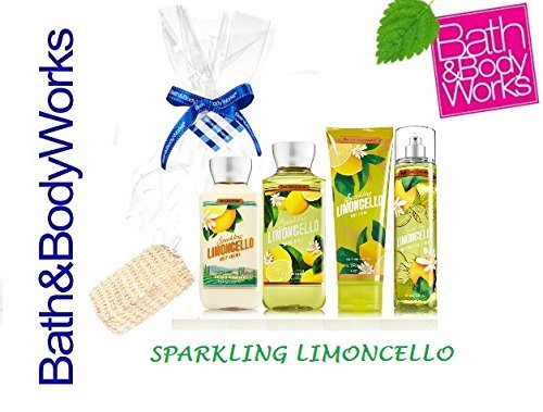 Bath & Body Works Sparkling Limoncello Gift Set - Body Lotio