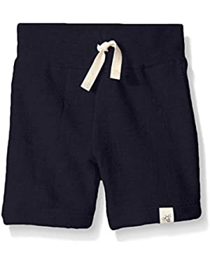Baby Boys' Organic Loose Pique Short