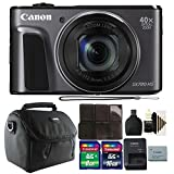 Canon PowerShot SX720 HS 20.3 MP 40X Optical Zoom Digic 6 Processor Wifi / NFC Enabled Digital Camera Black Plus Bundle Review