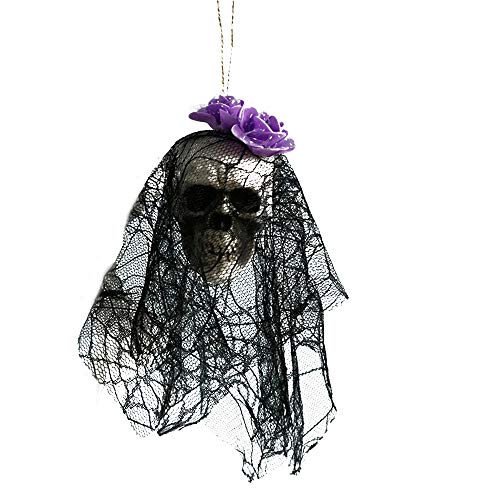 Hot Sale,Halloween Hanging Decor KIKOY Pirates Corpse Skull Haunted House Bar Home Garden -