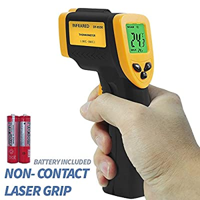 PARTYSAVING Non-Contact Infrared Thermometer Temperature Gun with Precision Laser Technology Industrial Automotive Home, APL1349