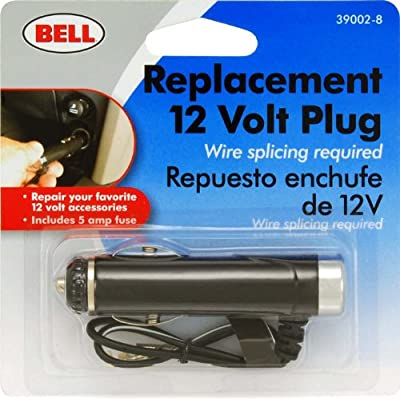 Bell Automotive 22-1-39002-8 12V Accessory Plug with Fuse Protection: Automotive