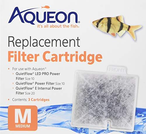 (2 Boxes) Aqueon 06084 Filter Cartridge, Medium, 3-Pack Each ()
