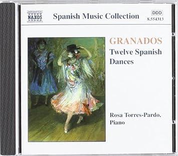Amazon.com: Granados: 12 Danzas españolas (12 Spanish Dances ...