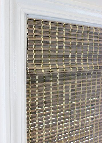 Radiance 2208850E Cordless Roman Shade Driftwood  64'' H X 27'' W by RADIANCE (Image #2)