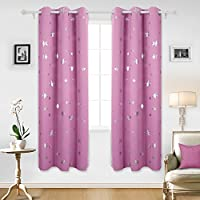 Deconovo Solid Thermal Insulated Blackout Curtains for...