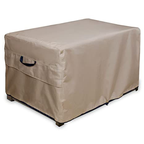 ULT Cover Patio Deck Box/Storage Bench Cover, 100% Waterproof Outdoor  Coffee Table
