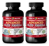 Product review for anti-aging oil-free - ADVANCED SLEEP FORMULA 952MG - brain memory supplements - 2 Bottles (120 Capsules)