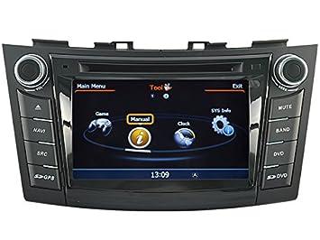 AudioCarSystem SUZUKI SWIFT-instalación OEM coche pantalla táctil con reproductor de DVD, MP3 radio