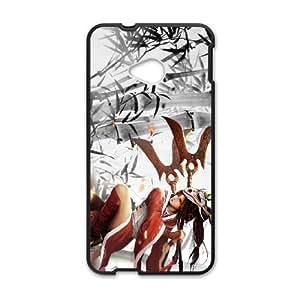 League of Legends(LOL) Akali HTC One M7 Cell Phone Case Black Phone Accessories LK_769142