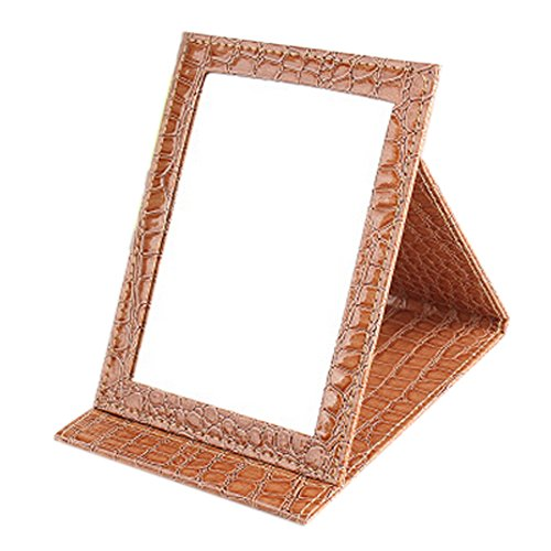 dolly2u PU Leather Portable/Foldable Mirror For Makeup/Tr...