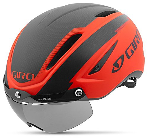 Giro Air Attack Shield Bike Helmet – Vermillion Medium