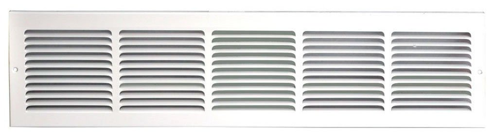 Speedi-Grille SG-306 RAG 30-Inch by 6-Inch White Return Air Vent Grille with Fixed Blades