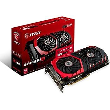 MSI GAMING Radeon RX 480 GDDR5 8GB CrossFire VR Ready FinFET DirectX 12 Graphics Card (RX 480 GAMING X 8G)