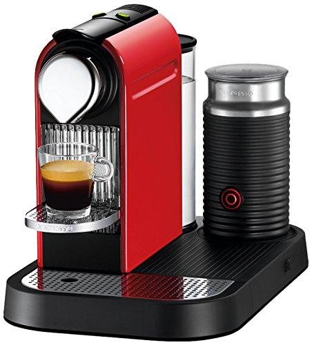 Nespresso Citiz & Milk C121 Independiente Totalmente automática Máquina de café en cápsulas 1L Rojo -