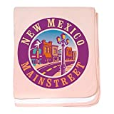 CafePress - New Mexico Mainstreet - Baby Blanket - Best Reviews Guide