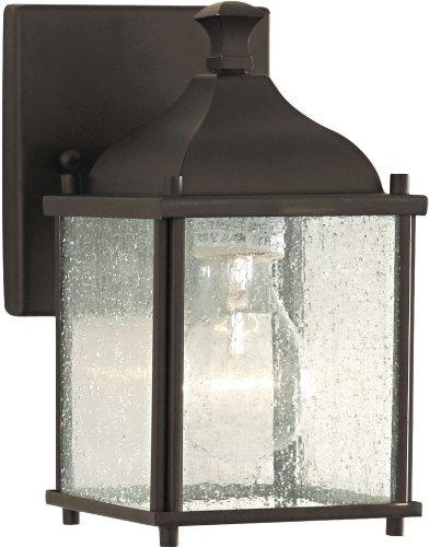 Feiss OL4000ORB Terrace Outdoor Patio Lighting Wall Lantern, Bronze, 1-Light (5