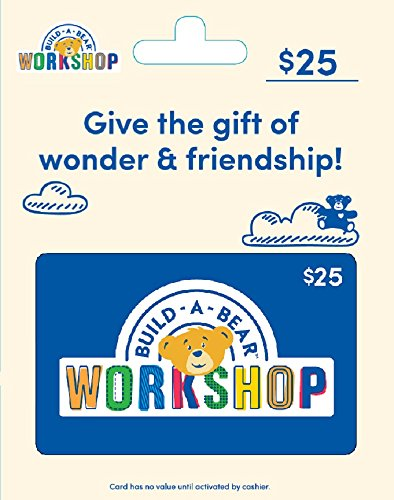 Build-A-Bear Gift Card $25