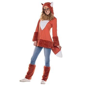 Krause & Sohn Disfraz de Fox para mujer vestido de traje de ...