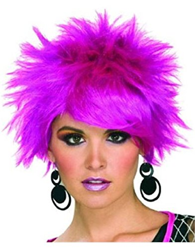 Pixie Wig Short Purple