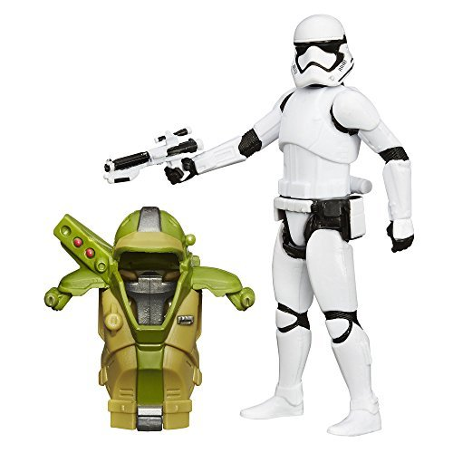 Star Wars The Force Awakens 3.75-Inch Figure Forest Mission Armor First Order Stormtrooper