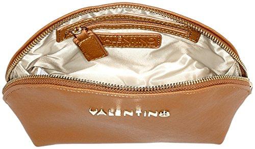 Valentino by Mario Valentino Lily, Bolso Clutch para Mujer, 6 x 14 x 23 cm Marrón (Cuoio)