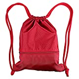 YFShine Fashion Nylon Waterproof Drawstring Backpack Gym Sack Bag Sport Bag for Men & Women Sackpack (Red)