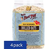 Bob's Red Mill Old Fashioned Regular Rolled Oats, 32-ounce (Pack of 4)