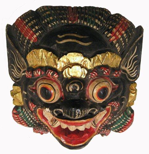 (Bali Wrathful Protector Buddhist Mask/Large Size)