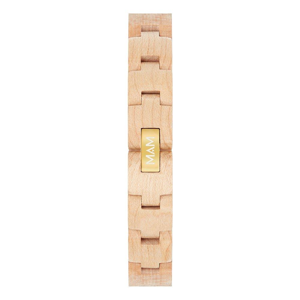 MAM Originals · Geese Maple | Relojes de mujer | Diseño minimalista | Relojes de madera sostenible | Alta calidad a buen precio: Amazon.es: Relojes