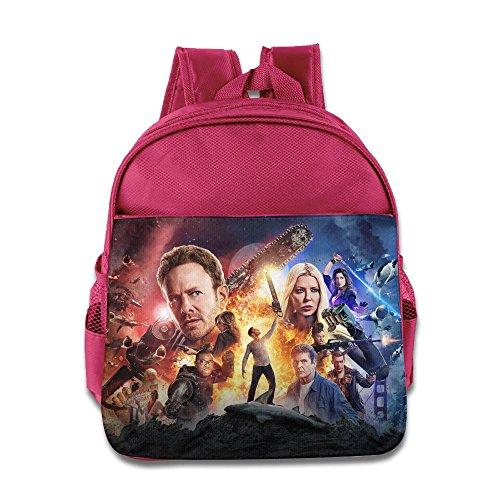 Unisex Boys Girls Sharknado 4 The 4th Awakens School Bag/Backpack (Sharknado Fin)