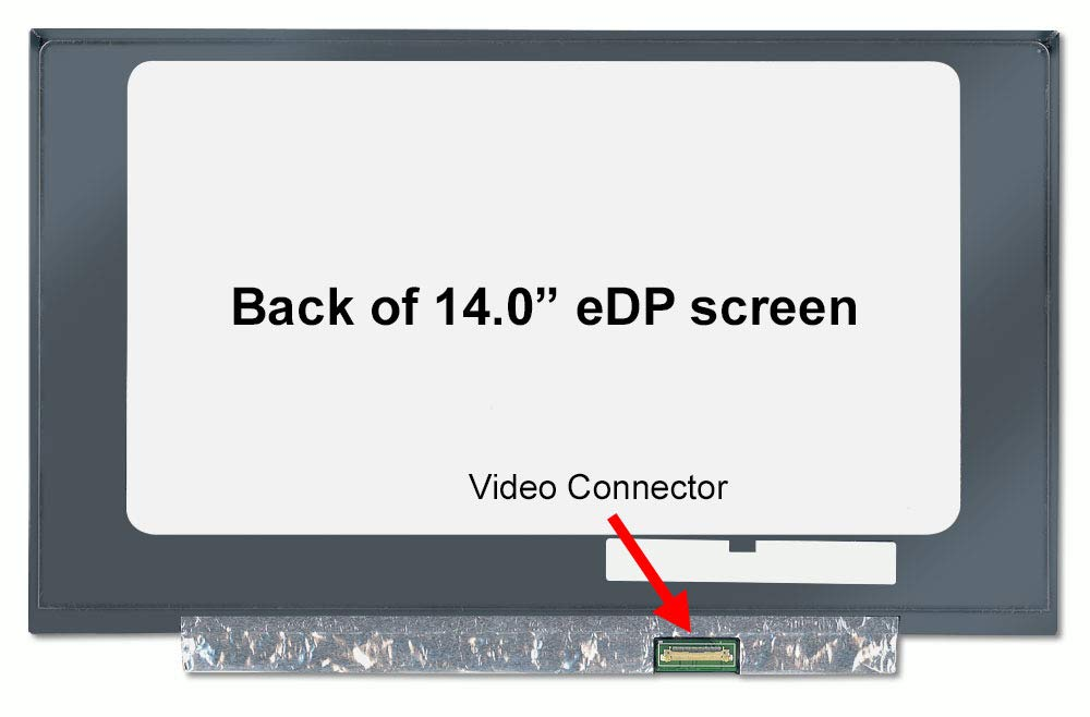 """JANRI LCD Display Screen Ribbon Cable for MacBook Pro A1286 15/"""" 2008 2009 2010 2011"""