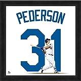 "Joc Pederson Los Angeles Dodgers UniFrame Photo (Size: 20"" x 20"") Framed"