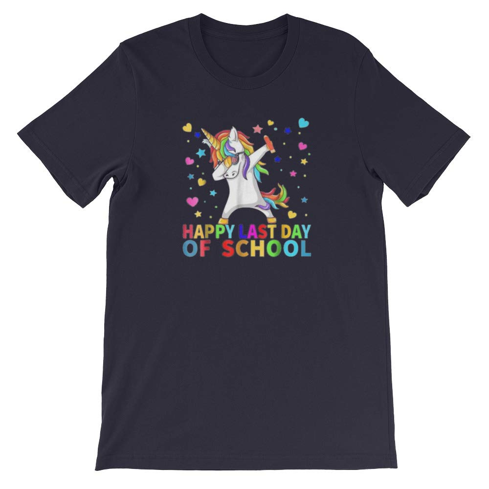 Gifts for Graduation Day Unisex T-Shirt Novaon Store Happy Last Day of School Gift Shirt for Teacher Student