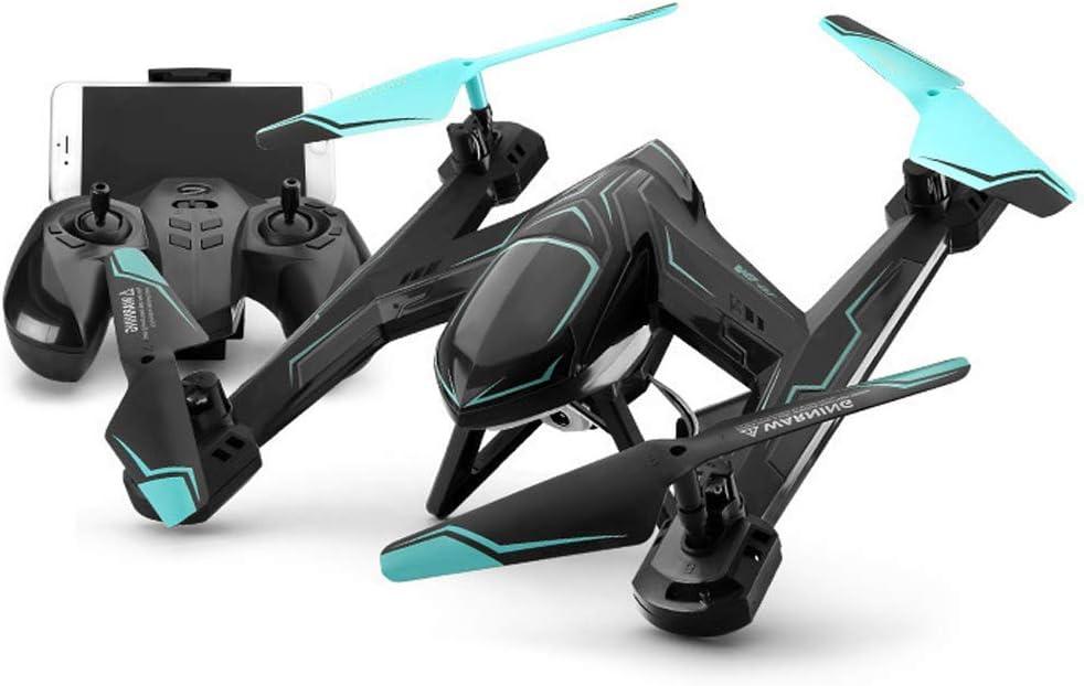 ZWWZ WiFi FPV RC Aviones no tripulados de 2,4 GHz de 4 Canales al Aire Libre y de Interior helicóptero RC RC Drone Quadcopter Modo Stunt sin Cabeza 360 Grados Rollo Juguetes for Principiantes HAIKE