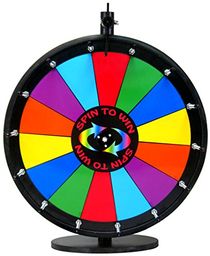 18in Quality Spin to Win Dry Erase Prize ()