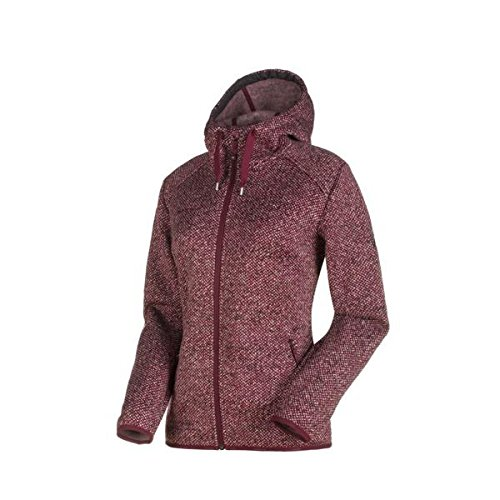 Mammut chamuera ml Hooded Jacket Women – Chaqueta de forro polar gris claro