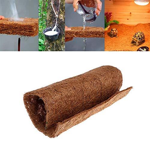 TUDIO Rainforest Reptile Pet Snake Frog Lizard Box Bottom Coco Carpet Tortoise Bird Insulation Mat