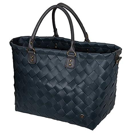 Saint-Tropez Handed By Farbe: Dark Grey//Dunkelgrau Shopper Tasche 36 x 43 x 24 cm